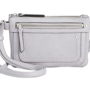 *NWT* Riverton Mini Dove Grey Crossbody Purse